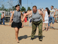 Празднование дня ВМФ в парке 300-летия