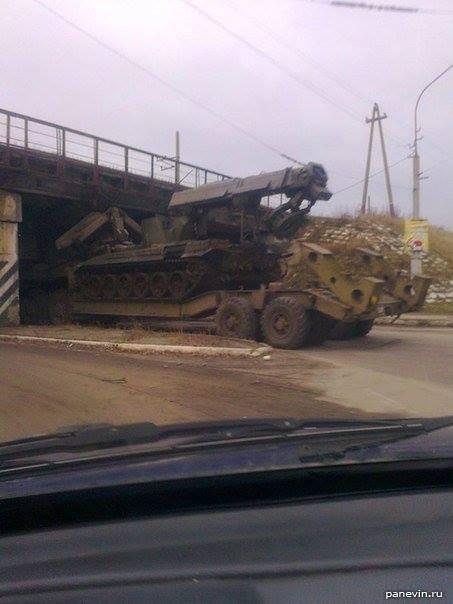 мост на улице Красной в Лисичанске атаковал ВСУ