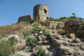 Crimea, Balaklava. Genoese fortress Chembalo