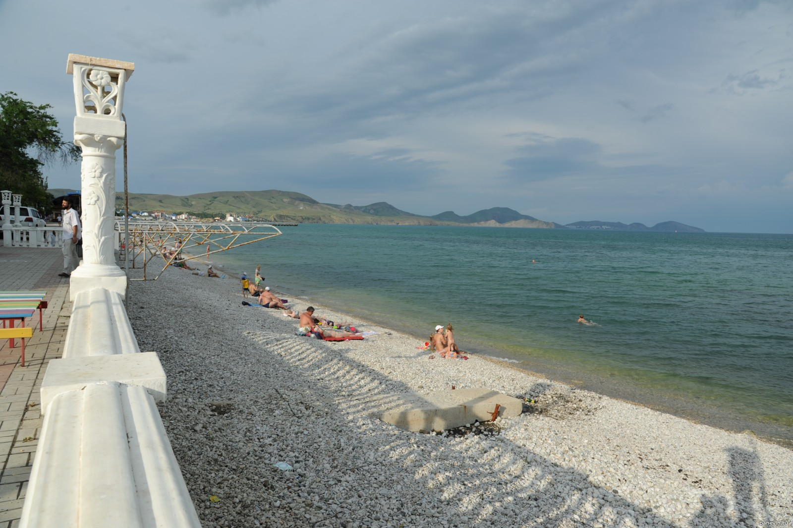 Фото пляжа коктебель сейчас