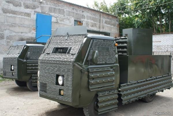 Вундервафля на базе УАЗ-3303 ВСУ