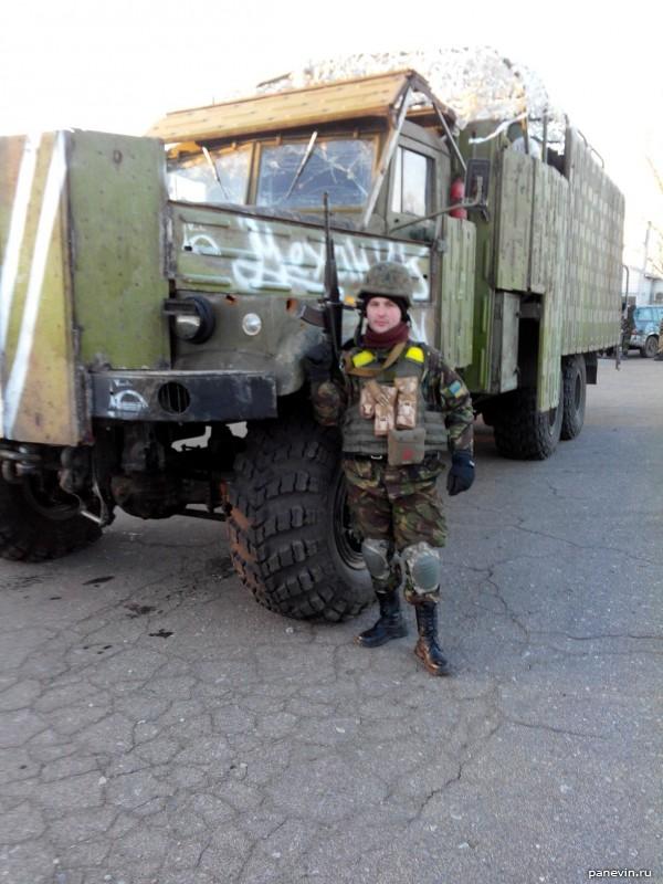 Бронированный грузовик