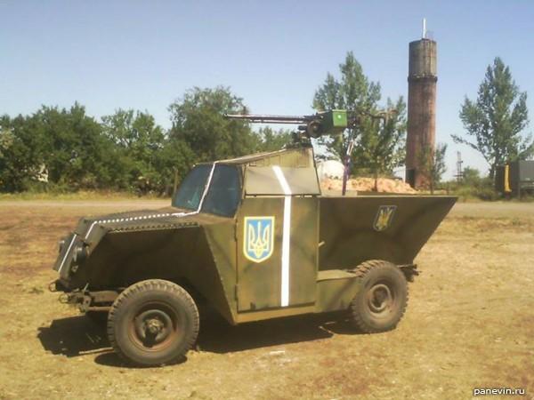 Лёгкий бронеавтомобиль НИ-2