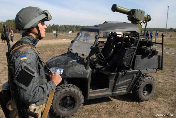 Новейший высокомобильный противотанковый комплекс Стугна-П