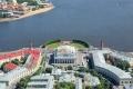 Санкт-Петербург — реки и каналы, фото с вертолёта