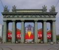 Московские триумфальные ворота — крупнейшее в мире сооружение из чугуна