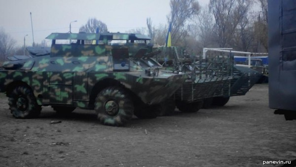 БРДМ отряда МВД «Сокол»