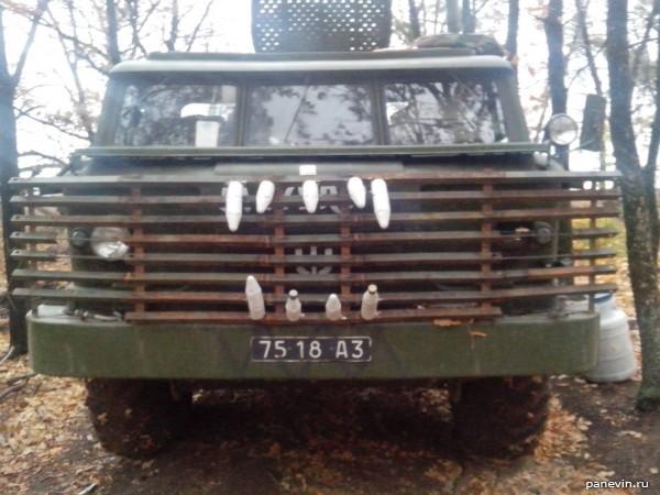 ГАЗ-66 с клыками