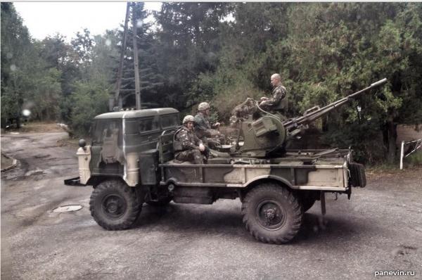ГАЗ-66 ВСУ под Славянском