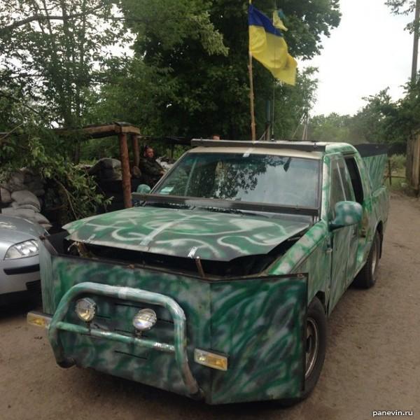 Внедорожник, полк «Азов»