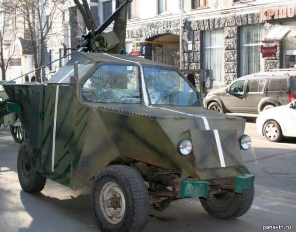 Самодельный легкий бронеавтомобиль «Скорпион»