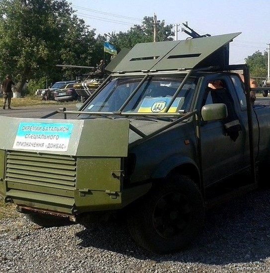 Джип батальона «Донбасс»
