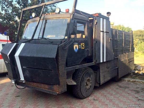 КамАЗ, полк «Азов»