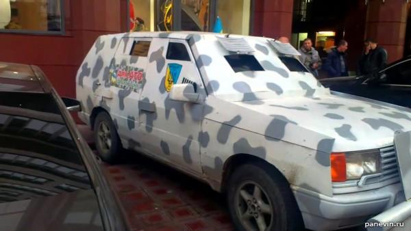 Бронеавтомобиль Nissan Patrol