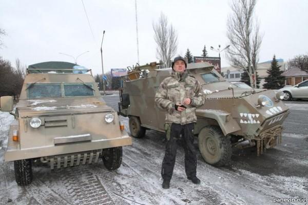 Бронеавтомобили батальона «Киевская русь»