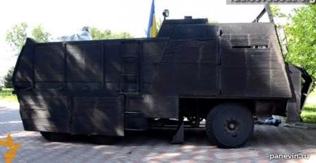 Бронированный украинский грузовик