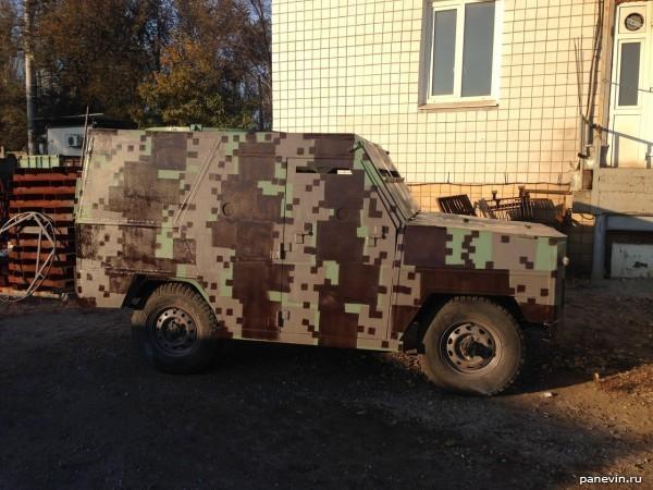 Бронированный УАЗ