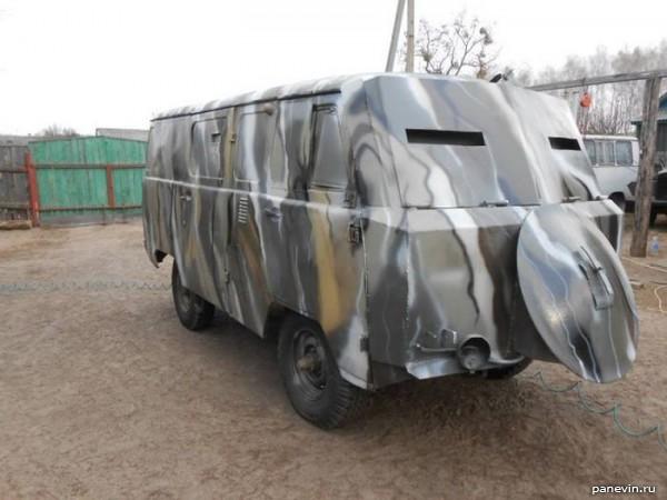 Бронированный УАЗ «Буханка»