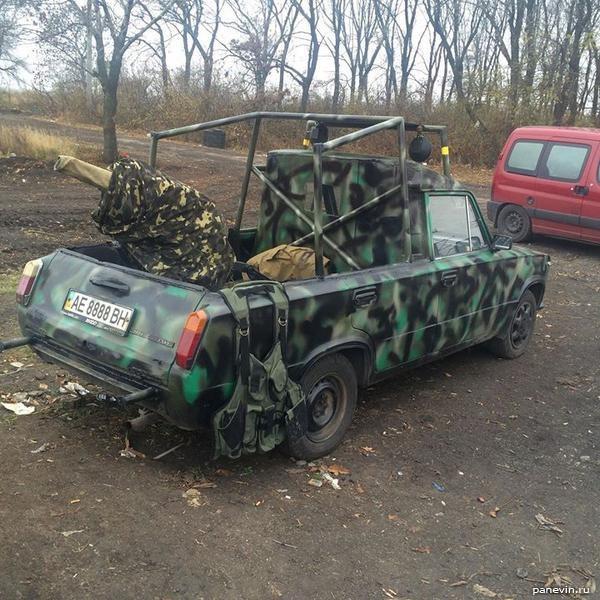 Камуфлированный ВАЗ-2104