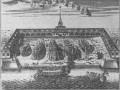 Вид на Адмиралтейство. Гравюра XVIII века.