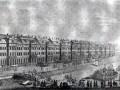 Здание Двенадцати коллегий. Гравюра 1753(?) года