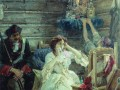 Мария Гамильтон перед казнью. Сведомский Павел Александрович, 1904 год