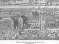 Захваченные шведские галеры вошли в Неву