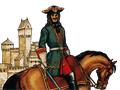 Офицер лейб-гвардии Семёновского полка, 1700—1720