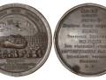 Памятная медаль в честь заключения Ништадтского мирного договора между Россией и Швецией