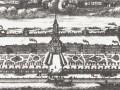 Александро-Невский монастырь, гравюра XVIII века
