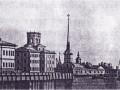 Здание Кунсткамеры с Академической обсерваторией