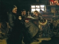 Александр Данилович Меншиков с семьёй в ссылке, картина