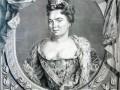 Екатерина Алексеевна. Гравюра 1724 г.