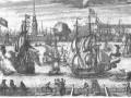 Вид Петербурга в 1727 году
