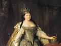 Императрица Анна Иоанновна, Луис Каравак, 1730 год, холст, масло
