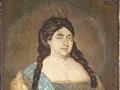 Портрет Анны Иоанновны на шёлке. 1732 год
