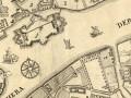 План Императорского столичного города Санкт Петербурга сочиненной в 1737 году. 1741 год. Фрагмент