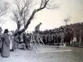 Общественная смертная казнь через повешение. Фото начала XX века.