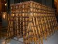 Модель лесов, сооружённых для установки колонн Исаакиевского собора (нынешнего, четвёртого)
