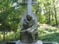 Надгробие могилы детей промышленника Людвига Нобеля на Смоленском Лютеранском кладбище
