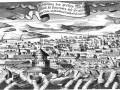 Фантастическая гравюра «Наводнение в Санкт-Петербурге и Кроншлоте в 1777 году»
