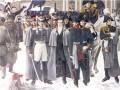 Кондратий Фёдорович Рылеев на Сенатской площади, во время восстания декабристов в 1825 году (центральная фигура, в штатском)