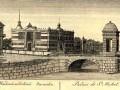Михайловский (Инженерный) замок, старинный рисунок