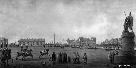 Марсово поле. Б. Патерсен. 1801