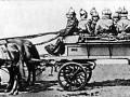 Пожарная команда, рисунок середины XIX века