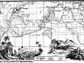 Карта кругосветного путешествия шлюпов «Надежда» и «Нева»