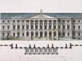 Джакомо Кваренги. Фасад Смольного института (ок. 1806)