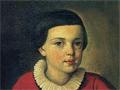 Михаил Юрьевич Лермонтов, портрет 1820-1822 гг