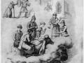 Пушкин читает Жуковскому поэму «Руслан и Людмила»