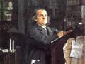 Композитор Александр Николаевич Серов (живопись В. А. Серова, 1887—1888)